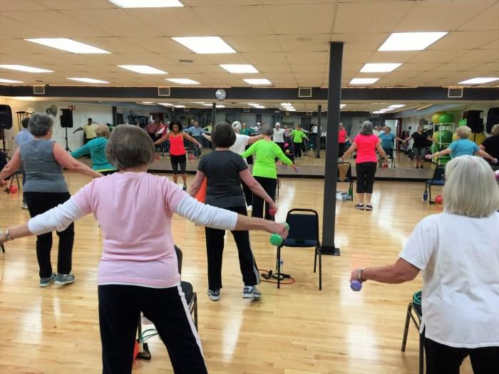 Aerobics room - YMCA