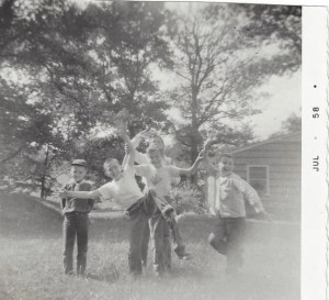 Photo from first camera (Cub Scout den)
