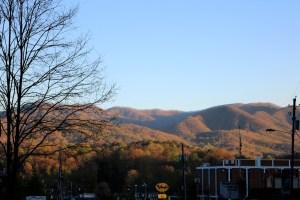 Morning Sun on the Mountain