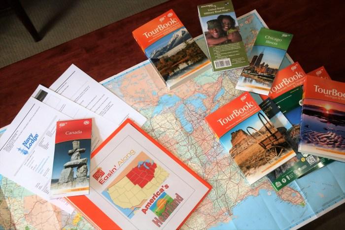 Books, maps, travel information