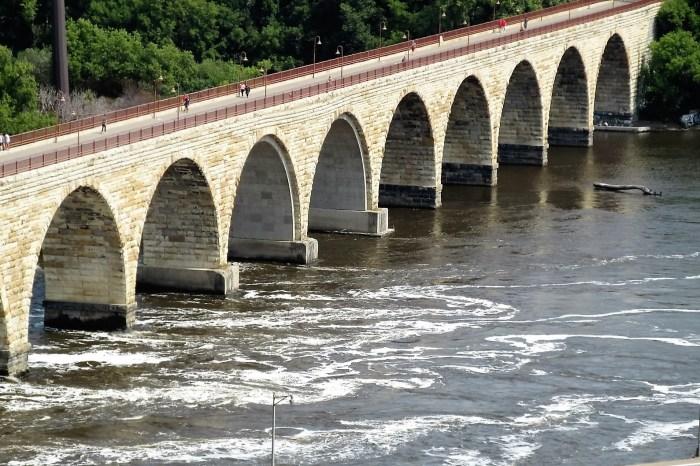 Stone Arch Pedestrian Bridge