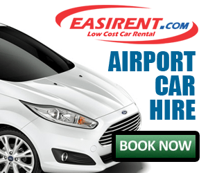 UK Airport car hire - save money now with Easirent.com