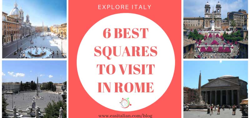 best squares in rome