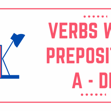 ITALIAN VERBS WITH PREPOSITIONS A and DI