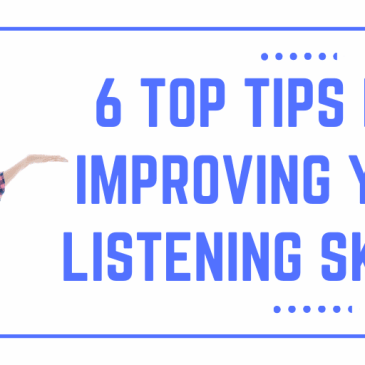 6 Easy Ways to Improve your Listening Skills!
