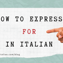expressing for