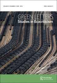 Green Letters: Studies in Ecocriticism