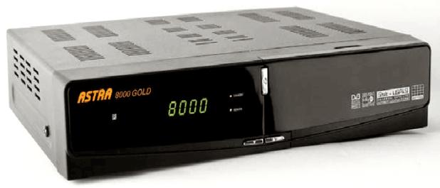 ملف قنوات جهاز ASTRA 8000 GOLD usb بتاريخ اليوم 3-8-2016