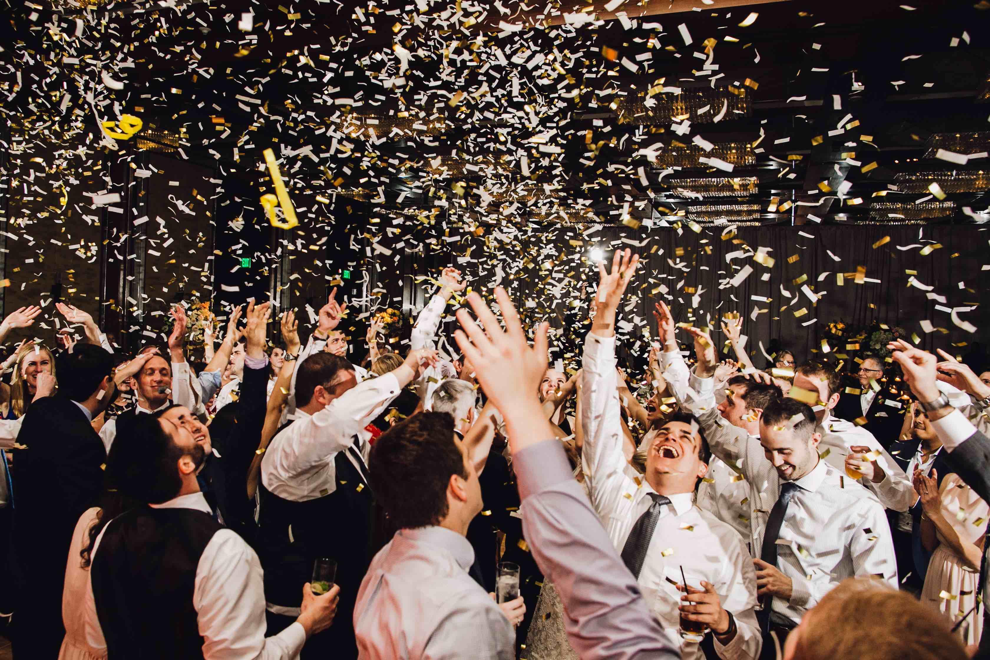 Confetti blast Norwich, Norfolk