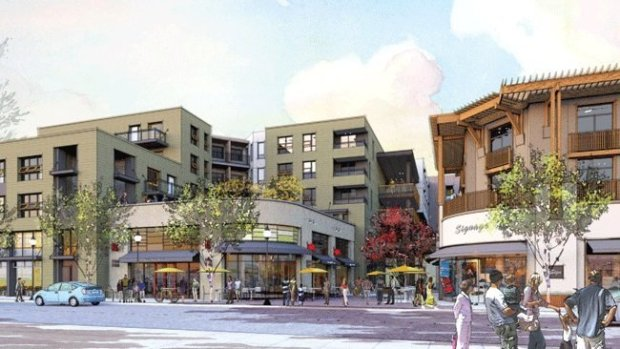CREDIT: CITY OF BERKELEYIllustration of the mixed-use project proposed at 1900 Fourth St.