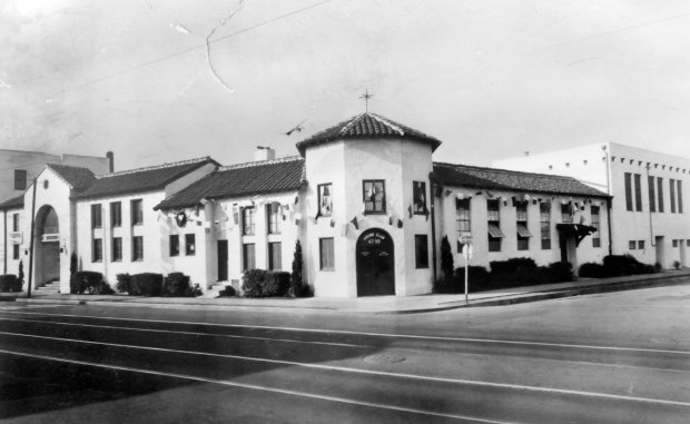 The original Ligure Club on Shattuck Avenue in 1938.