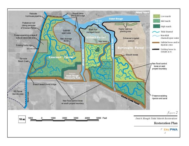 dutch slough tidal marsh plan