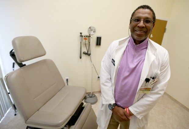 Doctor Ian Ahwah at New MD Urgent Care Clinic is photographed in El Cerrito, Calif., on Tuesday, Jan. 31, 2017. The clinic that provides basic medical services recently opened. (Anda Chu/Bay Area News Group)