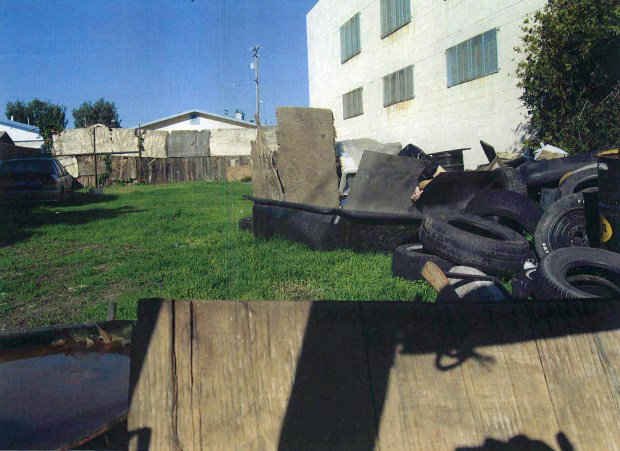 A City of Oakland reports contains photos documenting blight at properties owned by Chor Ng. (City of Oakland)