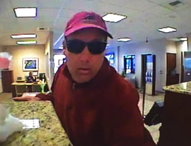 Concord police posted a picture of this bank robbery suspect on its Facebook page on Tuesday, April 4, 2017.