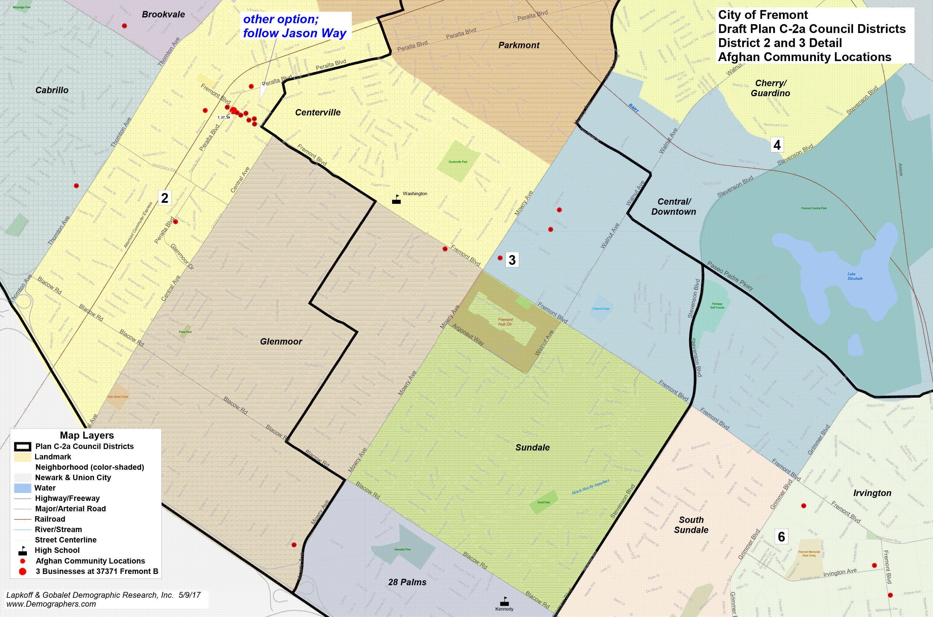 Fremont Final district election map to be decided soon