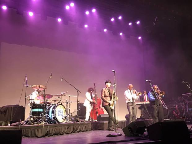 The Preservation Hall Jazz Band performed at the California Theatre in Pittsburg April 15.