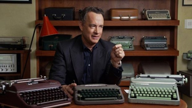 "CREDIT: SF DOCFESTActor, East Bay native and typewriter enthusiast Tom Hanks agreed to be in the documentary ""California Typewriter."""