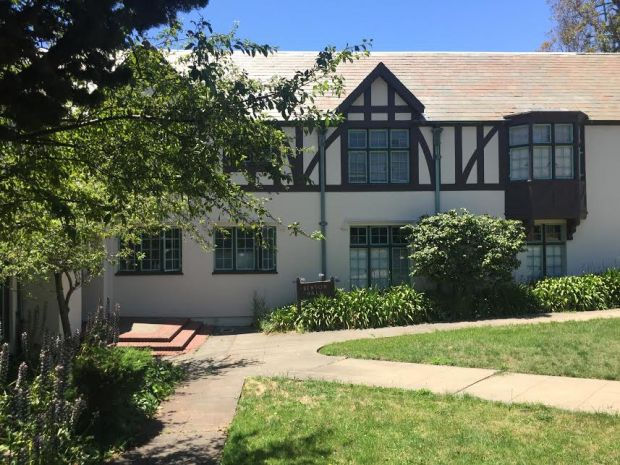 Benton Hall, on the Pacific School of Religion campus in Berkeley, Calif., is seen on June 20, 2017. (Tom Lochner)
