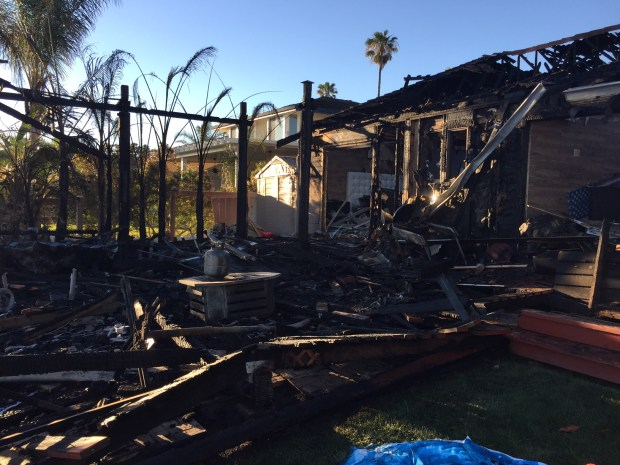 East Contra Costa Fire Protection District firefighters shared this image Monday, June 19, 2017 of the aftermath of a weekend Discovery Point house and deck fire.