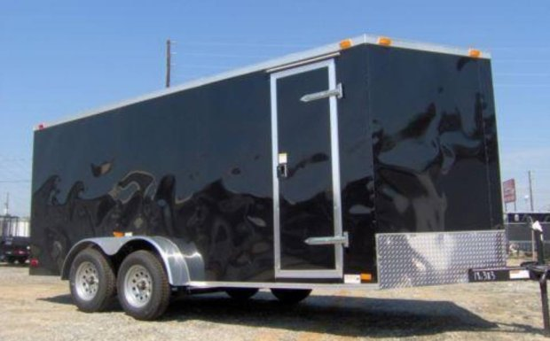 A trailer reported stolen Sunday, July 30, 2017 from the 3300 block of Vincent Road in Pleasant Hill.