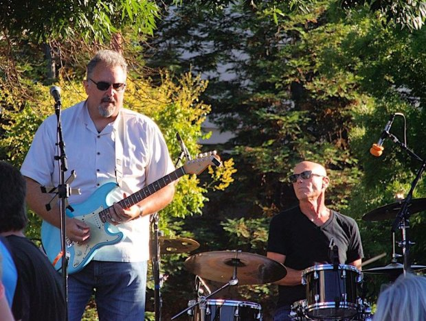 Frankie G and the Conviction will play high-energy blues Aug. 26 at WaldiePlaza in Downtown Antioch. COURTESY FRANKIE GIOVANNI AND THE CONVICTION