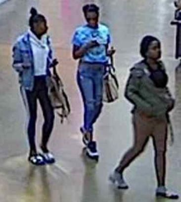 San Rafael police released photos and video of three suspects allegedly involved in snatching a purse last weekend from a 92-year-old Greenbrae woman at the Northgate Mall in Terra Linda. (Provided by SRPD)