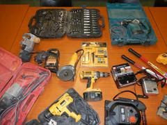 Police seized hundreds of dollars worth of power tools and arrested suspects after alerted to by a witness this week. (Berkeley Police Department)