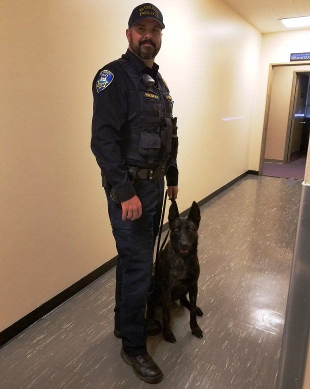 ec police dog