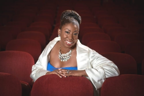 """Hope Briggs, a New York Metropolitan Opera national finalist, will join College of Alameda vocal students in a recital, """"Saving Our Children Through the Musical Arts,"""" on Dec. 7 at the Alameda campus."""