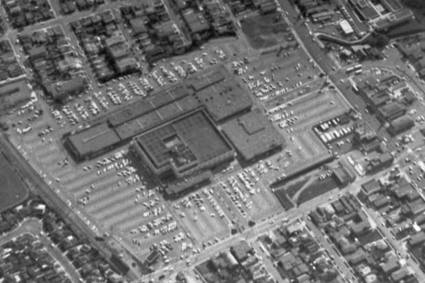 el cerrito plaza aerial 1962