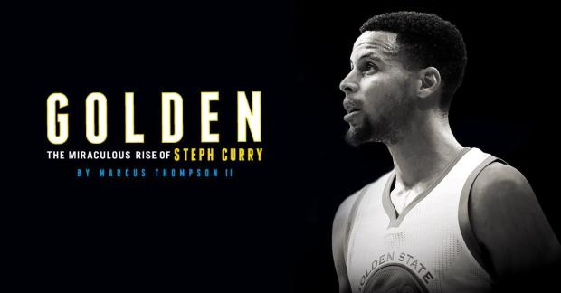 "Marcus Thompson II chronicled the story of Stephen Curry -- a four-time all-star and two-time NBA Most Valuable Player -- in his recent book, ""Golden: The Miraculous Rise of Steph Curry."" (Touchstone)"