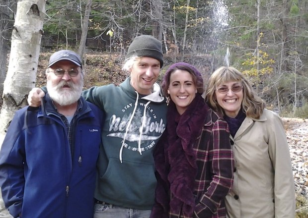 The Runnels family, from left, father Rick, Ben, daughter Erin, and motherLorrie Runnels in a photo from 2013. Ben Runnels is one of the 36 victims of the Ghost Ship warehouse fire. (Courtesy of the Runnels family)