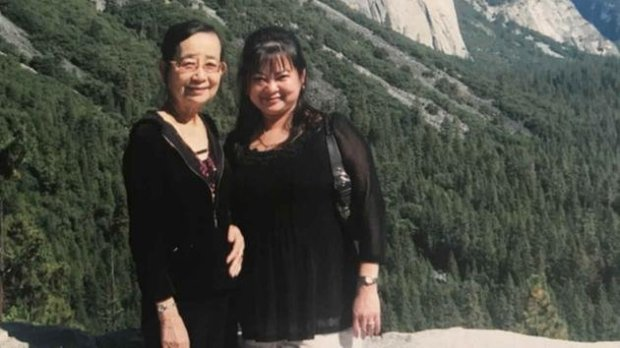 Si Si Han is seen in this undated image with her mother in YosemiteNational Park. (Courtesy: Han Family)