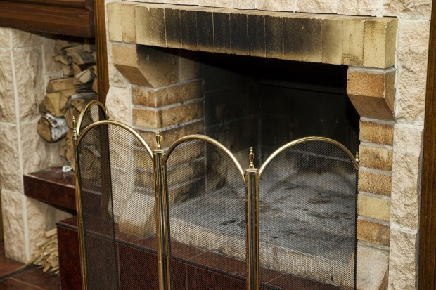 A blocked fireplace chimney or flue can allow carbon monoxide to accumulate inside your home.  (Dreamstime)