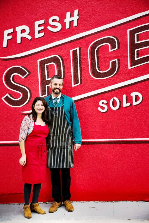 Courtesy Erin Scott PhotographyErica Perez and John Beaver have expanded Oaktown Spice Shop to Solano Avenue in Albany.