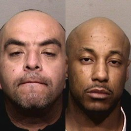 Emeryville police released these images Sunday, Feb. 25, 2018 of Antonio Grajeda, 42, and Vanderrick Vickers, 37.