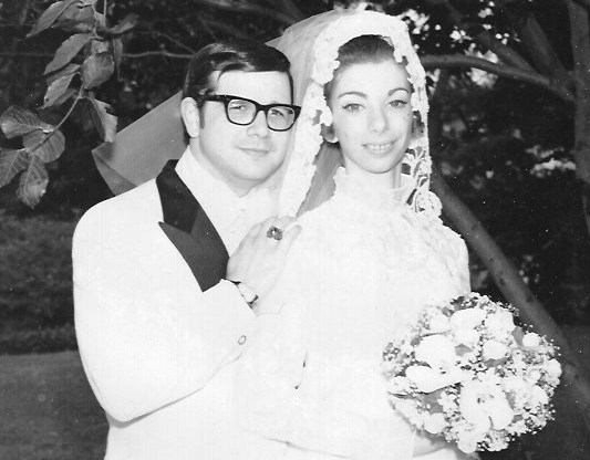courtesy of Jeff and Melanie BrentJeff and Melanie Brent, of Pleasanton, appear together on their wedding day in 1972. The Brents will celebrate their 46th anniversary in July.