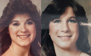 Michelle Xavier and Jennifer Duey, best friends who were found slain Feb. 2, 1986 in Fremont. (Fremont Police Department)