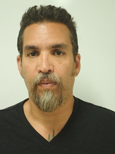Derick Almena, the master tenant of the Ghost Ship artist's collective warehouse in Oakland, as he appeared upon being booked after his arrest on Monday, June 5, 2017. (Lake County Sheriff's Department_
