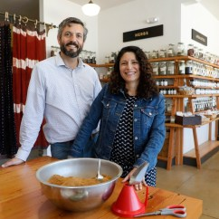 Specialty Kitchen Stores Cherry Wood Island Bay Area S Best Grocery East Times John Beaver And Erica Perez Are The Owners Of Oaktown Spice Shop Photographed At Their Newest Location In Albany Calif On Tuesday May 1 2018