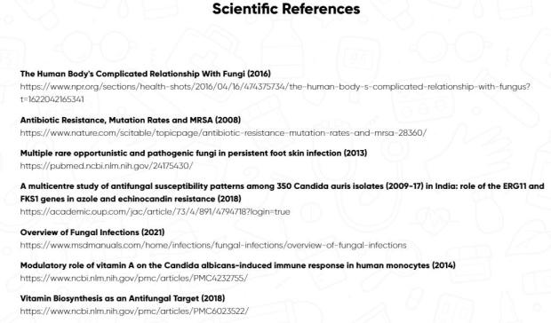 Scientific References