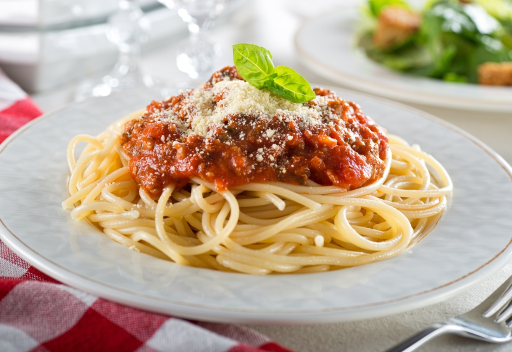 You might think that it's the sauce that makes the pasta dish, but the quality of the spaghetti matters a great deal. (Getty Images)