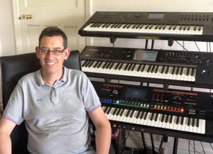 Rod Pooley - Musician/ Keyboards, Pianist & Organist. Private Tuition. Composer. Director of The Drawtones Ltd.