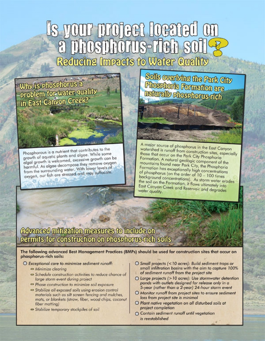 hight resolution of flyer is your project located on a phosphorus rich soil