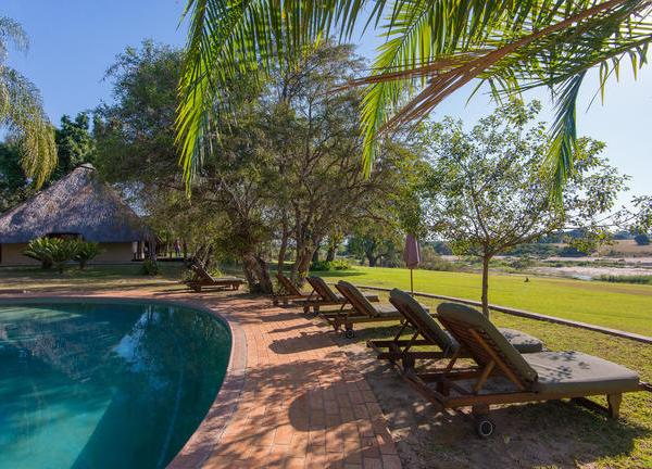 Inyati Game Lodge Pool Area
