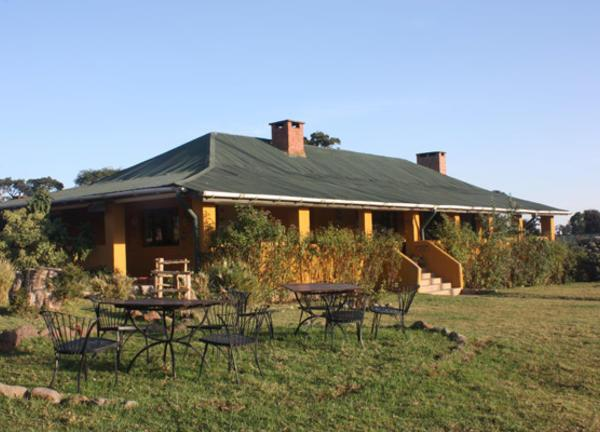 Ngorongoro Rhino Lodge Exterior View