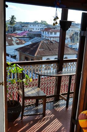 Zanzibar Coffee House View of Rooftops