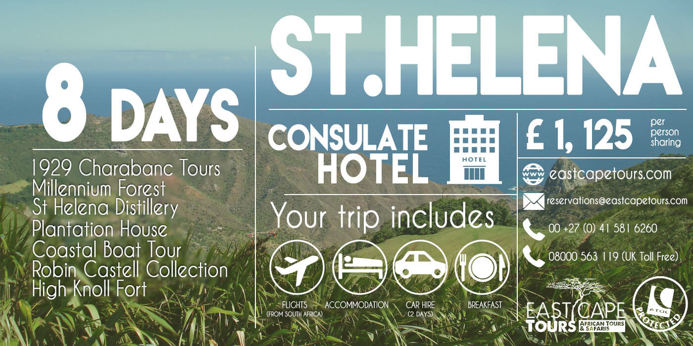 ECT Uk St Helena package special