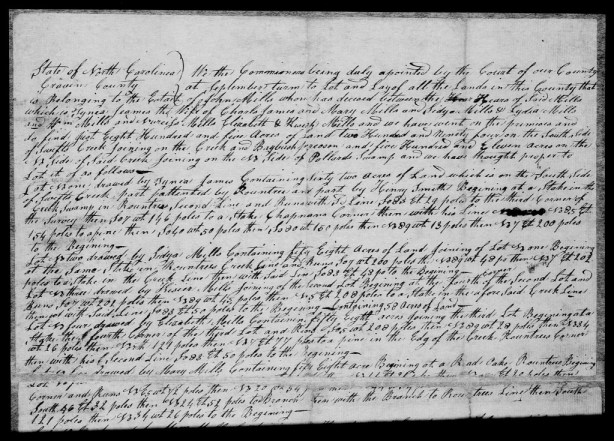 p27 - Division of John Mills land